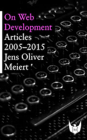 "The cover of ""On Web Development."""