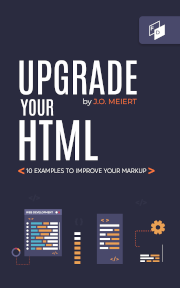 """The cover of """"Upgrade Your HTML."""""""