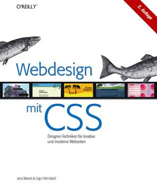 Cover: Webdesign mit CSS, 2. Auflage.